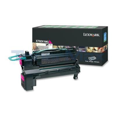 LEXMARK X792 PRINT CART MAGENTA RP 20K